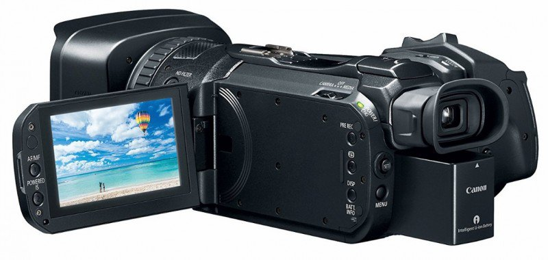 "Canon VIXIA GX10 camcorder, 4K videos, i inch tput up to 60 fps 8.29MP, 1"" CMOS Sensor"