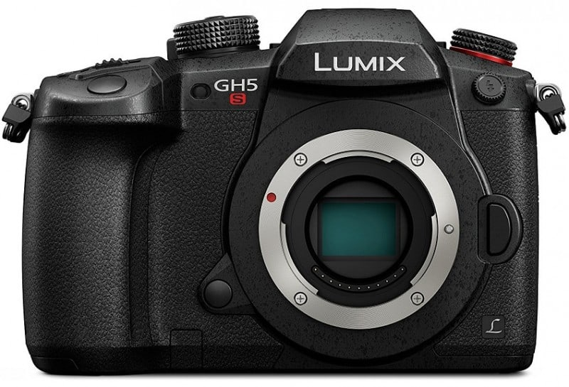 PANASONIC LUMIX GH5S, 4K mirrorless camera, 4K camera