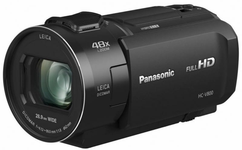 Panasonic HC-V800K, Full HD camcorder, Panasonic V800
