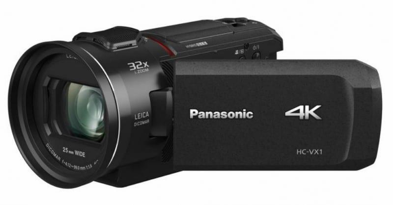 Panasonic HC-VX1K, LEICA DICOMAR Lens, 4K video cameras