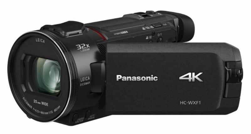 Panasonic HC-WXF1K, 4K camcorder, Panasonic camcorder