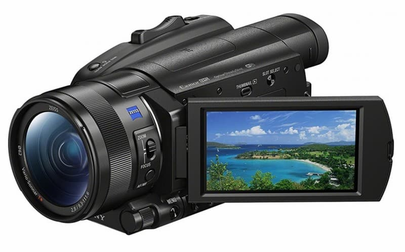FDR-AX700 review, 4K video recording, Sony camcorders