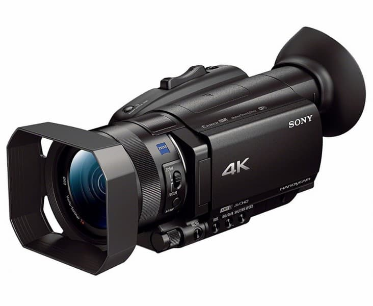 Sony FDR-AX700, 4K camcorder, 4K HDR Video Recording