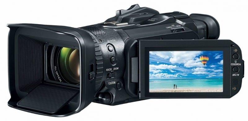 VIXIA GX10 review, Canon 4K camcorder, Canon 4K