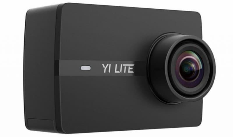 Yi lite 4K sports camera, Yi action camera, 4K camera