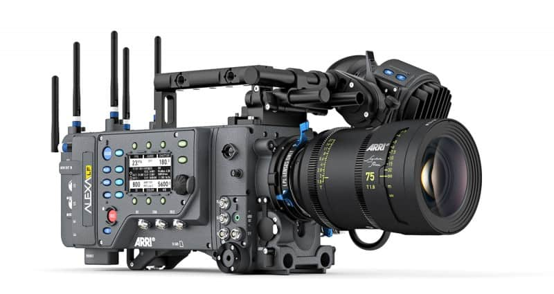 ARRI Alexa LF, large format, Alexa 4K camera