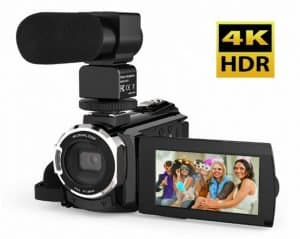 Top Budget 4K Video Cameras Under $500