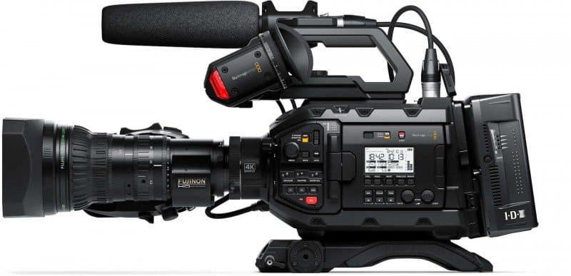 Blackmagic Design Introduces The Ursa Broadcast An Affordable 4k Live Production Camera