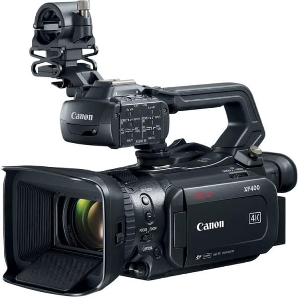 Canon XF400, 4K camcorder, XF400 review