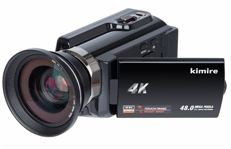 Kimire 4K Camera WiFi Camcorder