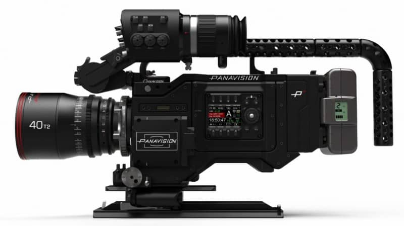 Panavision Millennium DXL2, RED MONSTRO 8K VV sensor, 8K camera system