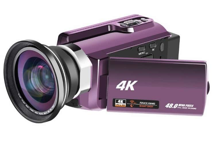 RAINBOWDAY 4K Video Camera