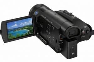 FDR-AX700 handycam, Zeiss Vario Sonnar T* Lens, Sony 4K video cam