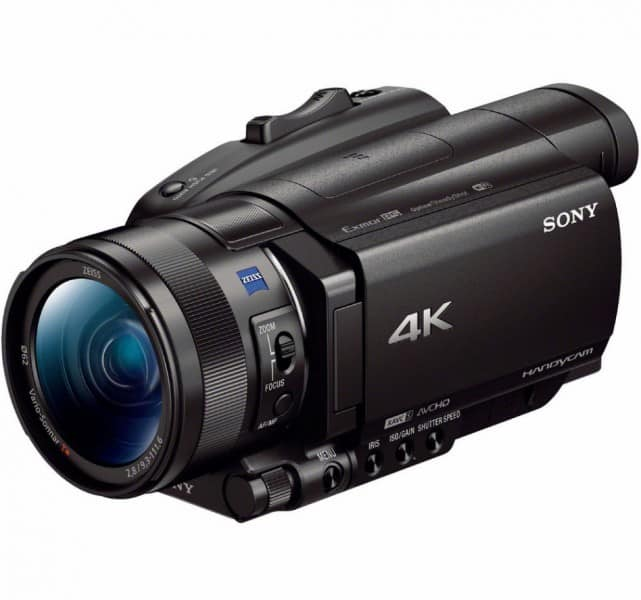 Sony FDR-AX700, Sony camcorder, 4K camcorder