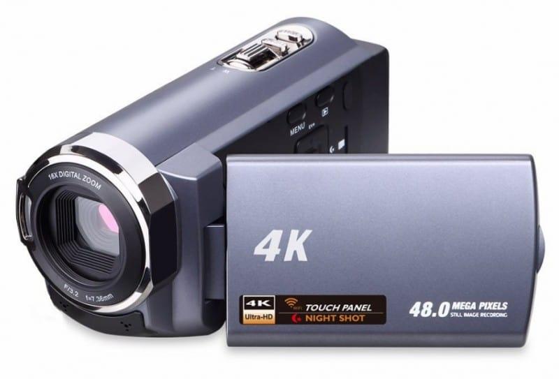 Sunlea Tech 4K Video Camera