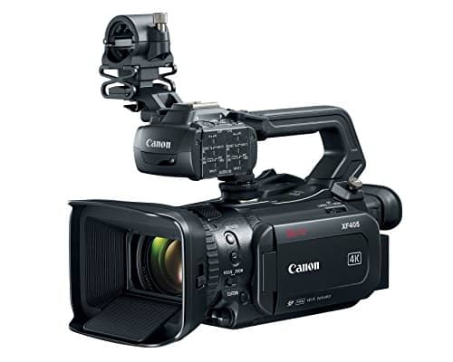 Canon XF405 4K UHD Camcorder Review