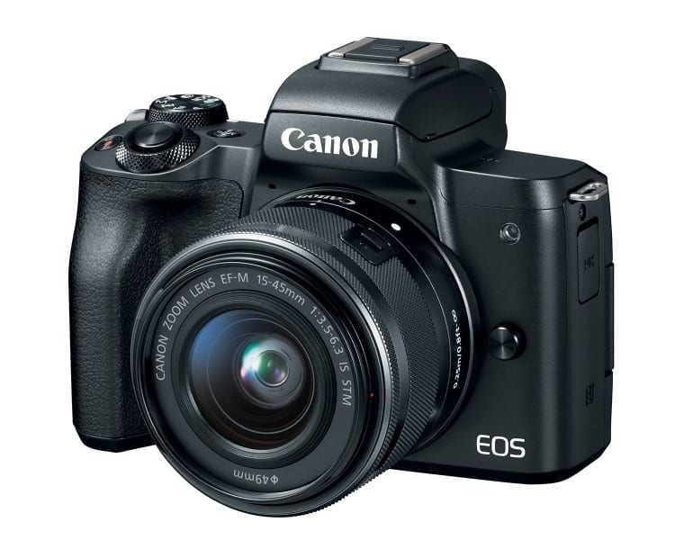 Canon EOS M50, Interchangeable Lens Camera, 4K video recording