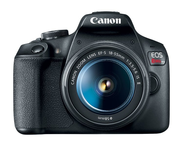 Canon EOS Rebel T7, entry-level DSLR Cameras, CMOS sensor