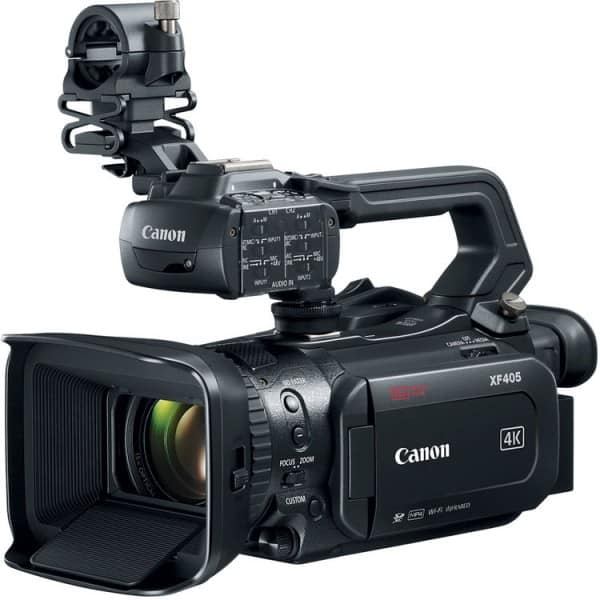 Canon XF405, Professional Camcorder, 4K camcorder