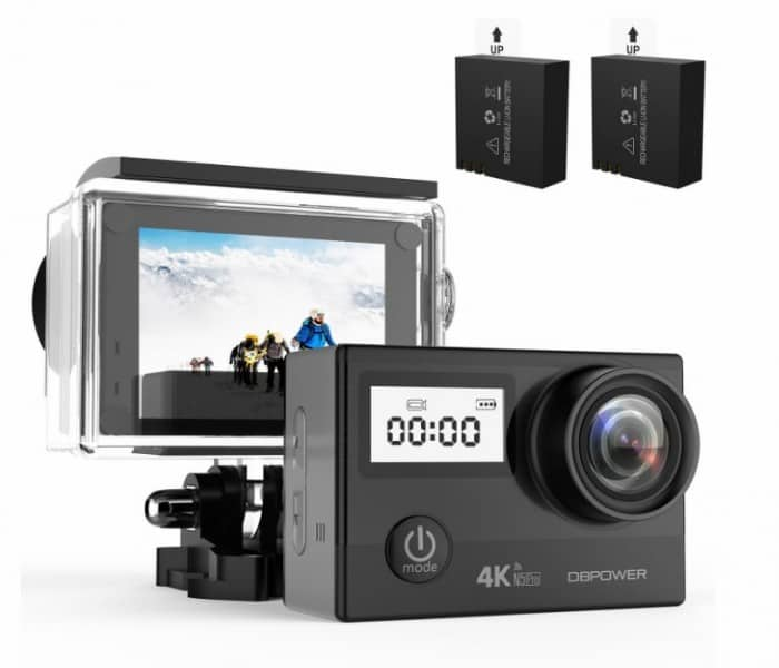DBPOWER N5 Pro WiFi Action Camera 4K Ultra HD