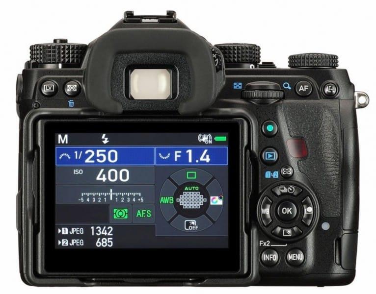 Ricoh K series, 35mm full-frame, DSLR camera