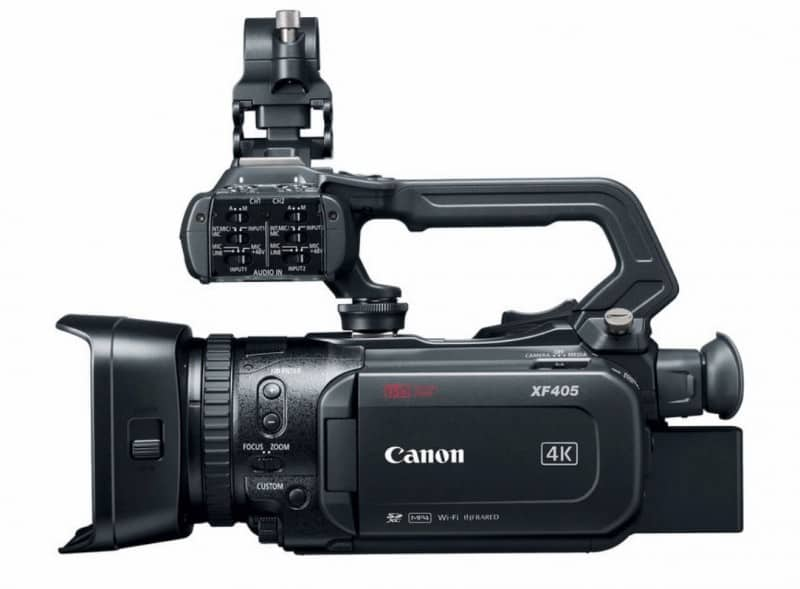 XF405, 4K UHD camcorder, Professional Camcorder