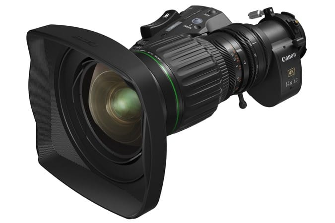 CJ14ex4.3B, 2/3-inch UHDgc series, 4K resolution