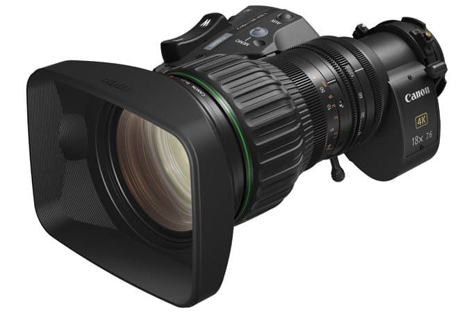 CJ18ex7.6B, 4K production, 4K UHD lens