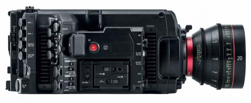 Canon cinema camera, full-frame sensor, Canon EOS C700 FF