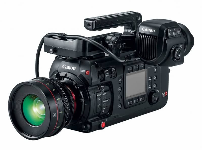 EOS C700 FF, Full-Frame Cinema Camera, full-frame lens, 4K Cinema EOS family