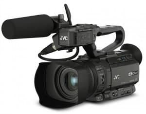 JVC's three newest 4KCAM additions offer integrated graphics and live streaming