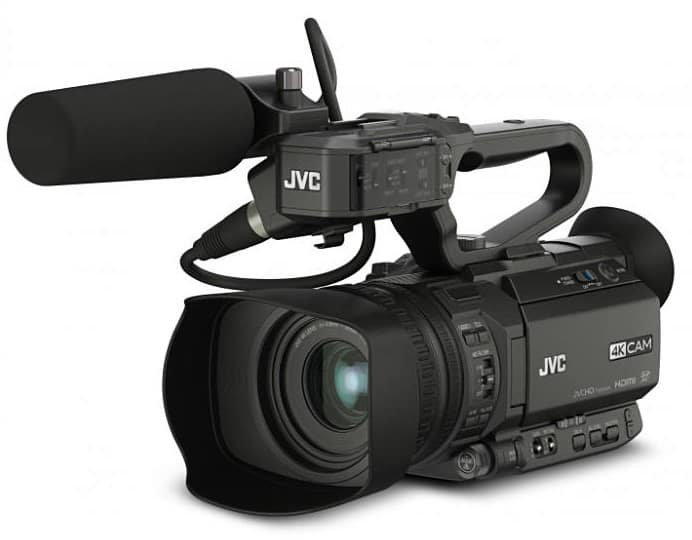 GY-HM180U, 4KCAM Compact Handheld Camcorder, professional compact cameras