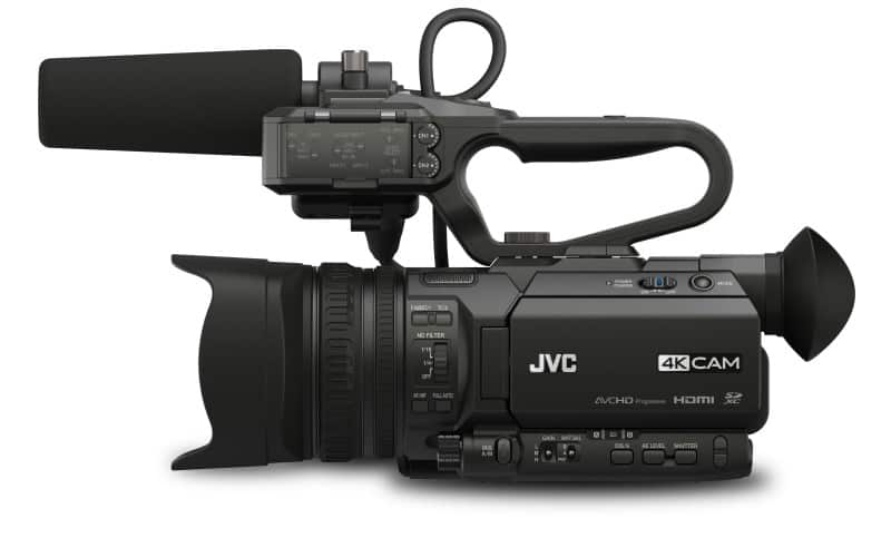 JVC GY-HM250SP, sports production camera, 4K UHD video camera