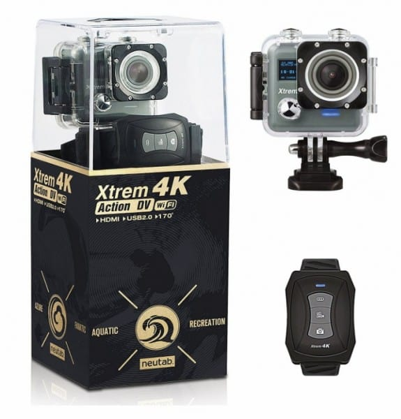 NeuTab Xtrem 4K Action Camera