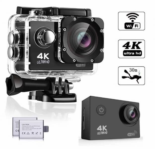 WeyTy WT100 Action Camera, 4K Ultra HD