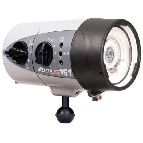 Ikelite DS161 Underwater Substrobe + Video Light with NiMH Battery & USA Plug
