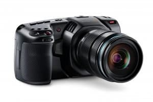 Blackmagic's new Pocket Cinema Camera continues with an MFT lens mount, but now with 4K support