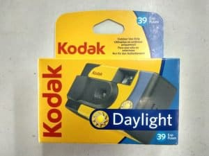 Kodak launches a Daylight Single Use Camera with ISO 800 Film in Europe