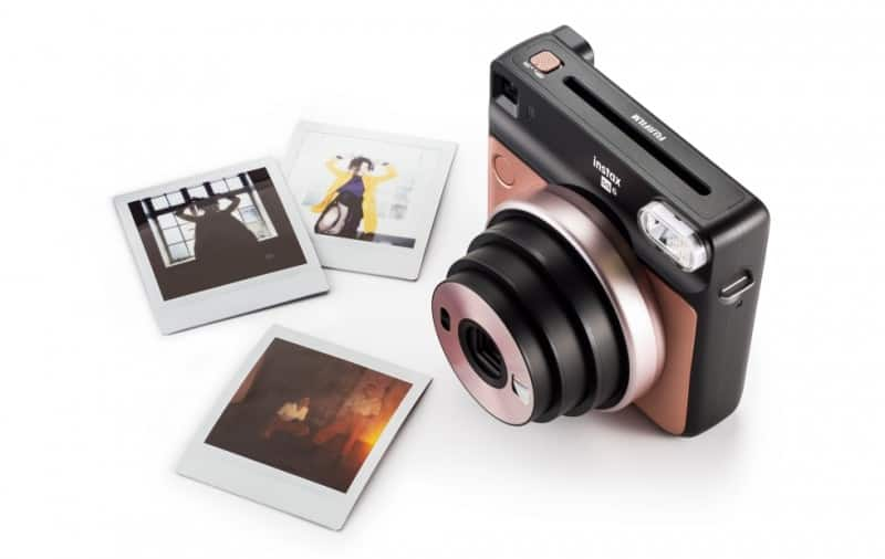 Fujifilm introduces its first square-format analog Instax camera