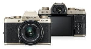 Fujifilm adds the X-T100, a user-friendly mirrorless camera that produces high-quality photos