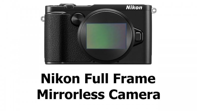 nikon ff mirrorless camera