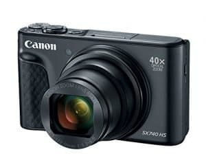 Canon's PowerShot SX740 HS is travel-friendly compact with 4K video and 40x zoom