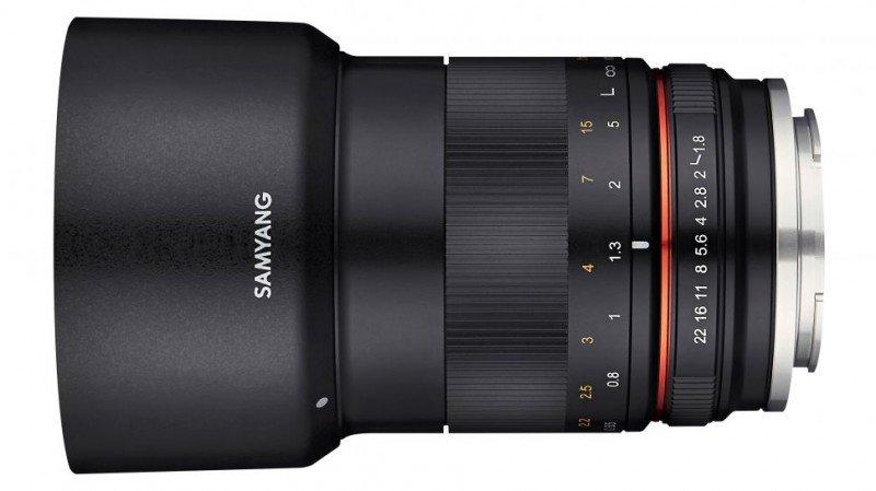Samyang 85mm F1.8 Prime Lens