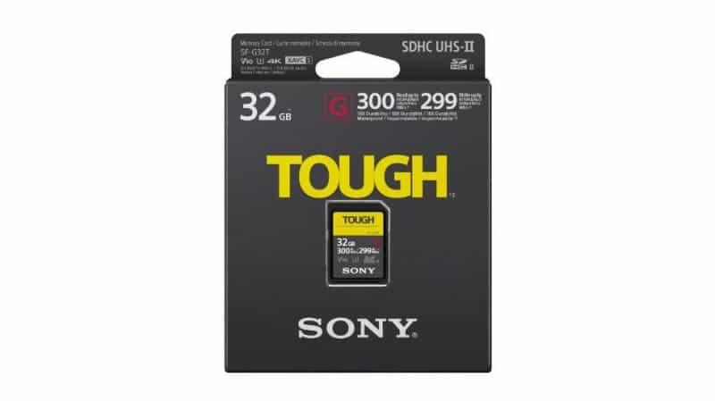 Sony SD card