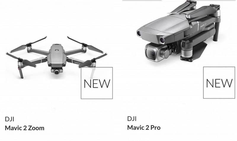 DJI Mavic 2 Pro and DJI Mavic 2 Zoom