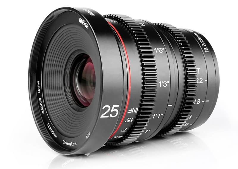 Meike 25mm T2.2 Cine Lens