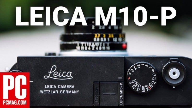 Leica M-10P Mixes the Old and New, but Still Remains Expensive