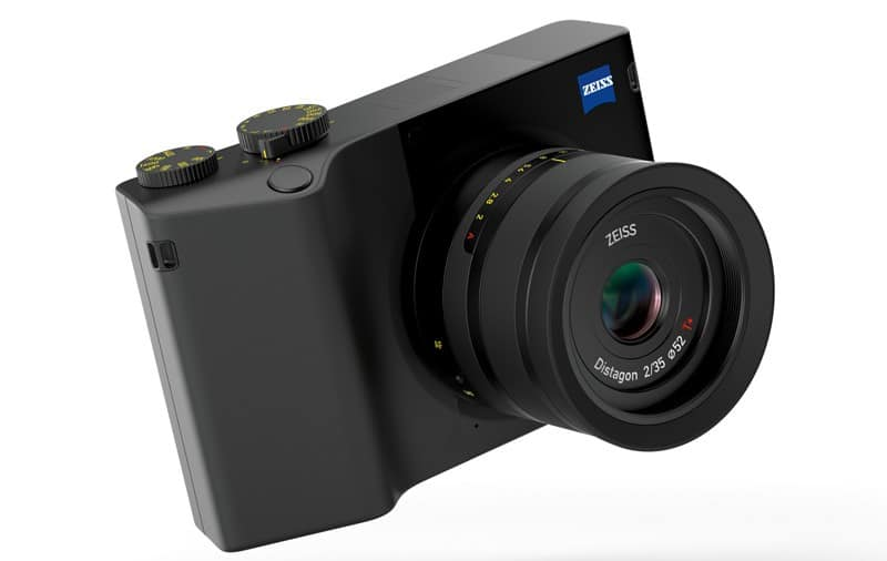 ZX1: Zeiss' First Digital Camera has a Full-frame Sensor with 35mm Lens