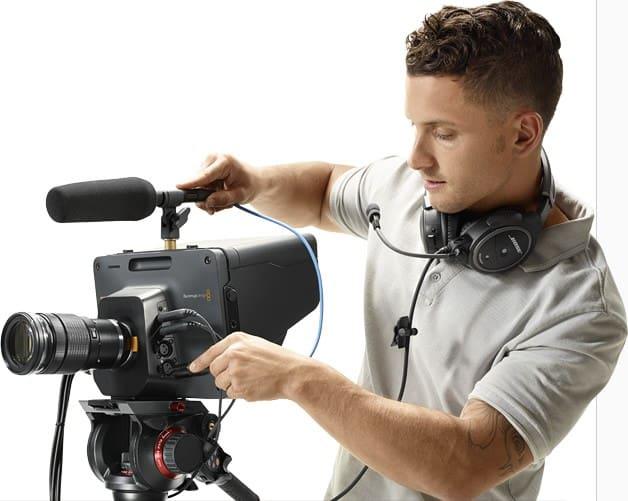 BlackMagic Design Studio HD Camera