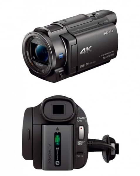 Sony 4K HD Video Recording FDRAX33